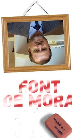 Font de Mora como Felipe V, de nefasto recuerdo para el pueblo valenciano