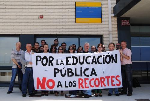 foto huelga 9 de mayo
